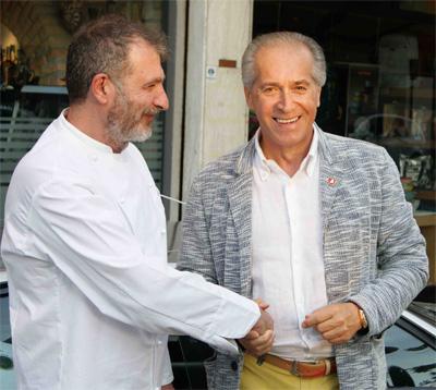 Stefano Aldreghetti con Fabio Lamborghini