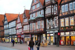 Celle - Centro città e case a graticcio