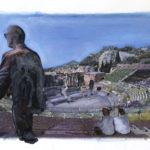 Taormina. LE FOTODIPINTE DI ANDREA SAMARITANI.