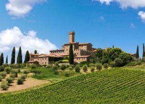 Castello Banfi - Montalcino - Siena