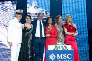 Cerimonia Inaugurazione MSC Seaview
