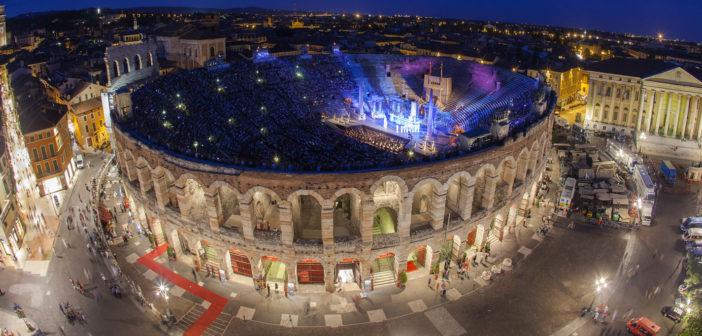 La 96° edizione dell'Arena di Verona Opera Festival