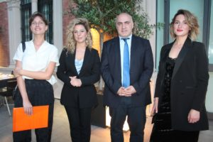 Volo Bologna Tbilisi - Tamara Tandashvili (Georgian Airways) - George Chogovadze - I Portici Bologna
