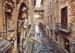 Barcellona - Barrio Gotico - #Spainin10secs