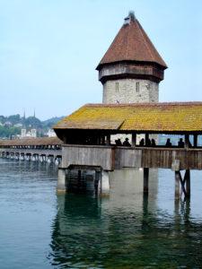 Lucerna - Kappelbrücke e Wasserturm