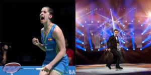 Carolina Marin e Javier Fernandez - #Spainin10secs