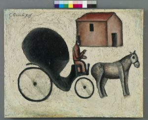 Carlo Carrà, La Carrozzella, 1916
