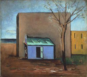 Carlo Carrà, Il Bersaglio, 1928