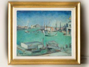 Carlo Carrà, Bacino San Marco, 1932