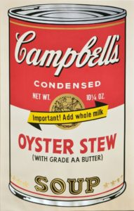 Andy Warhol - Campbell's Soup, 1969, serigrafia su carta